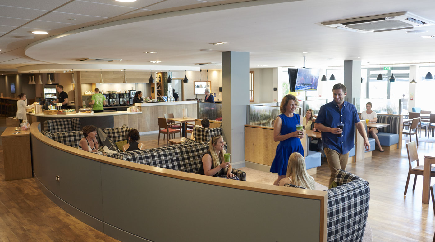 Image of the Clubroom at David Lloyd Clubs