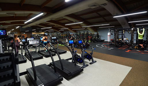 Image of the gym space at David Lloyd Chigwell