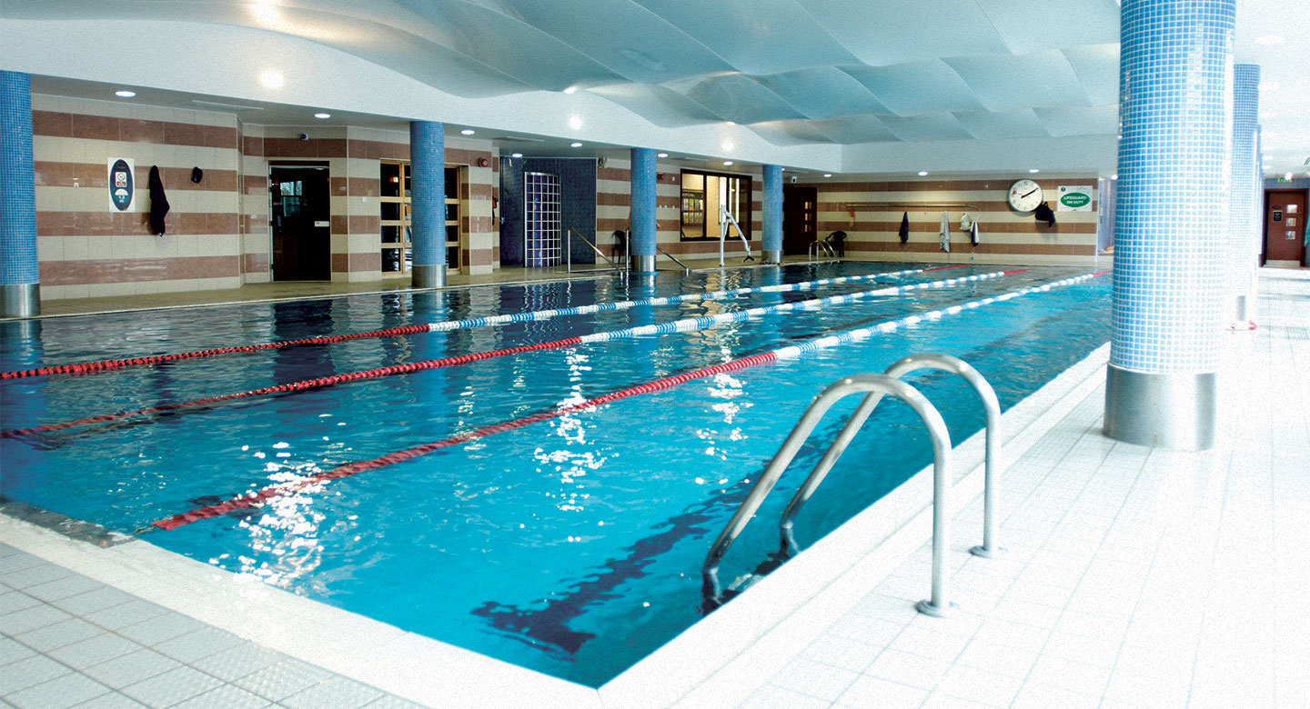 David Lloyd Dublin indoor pool