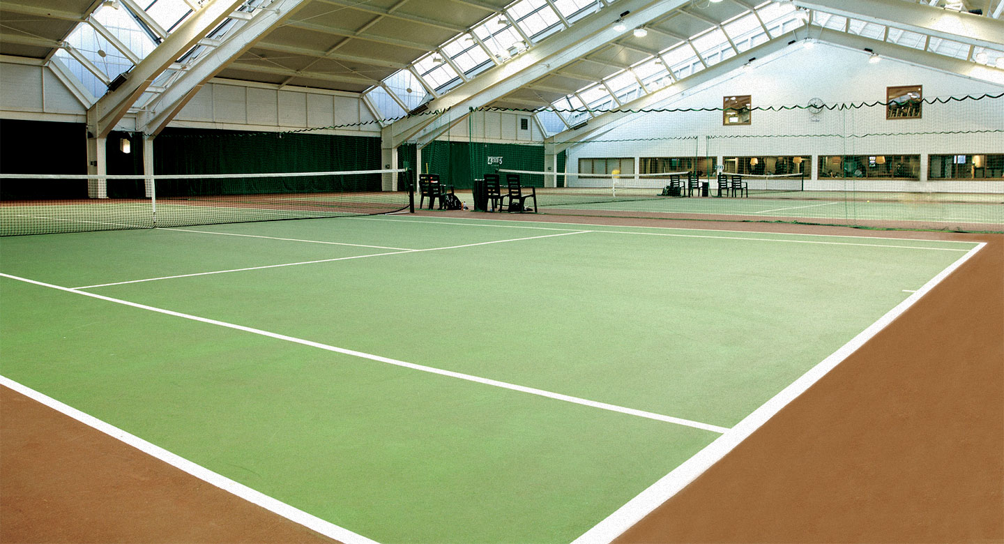 David Lloyd Dublin indoor tennis