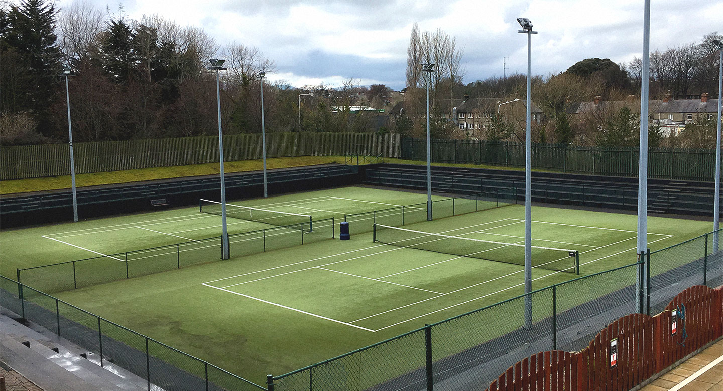 Dublin Riverview Outdoor tennis courts