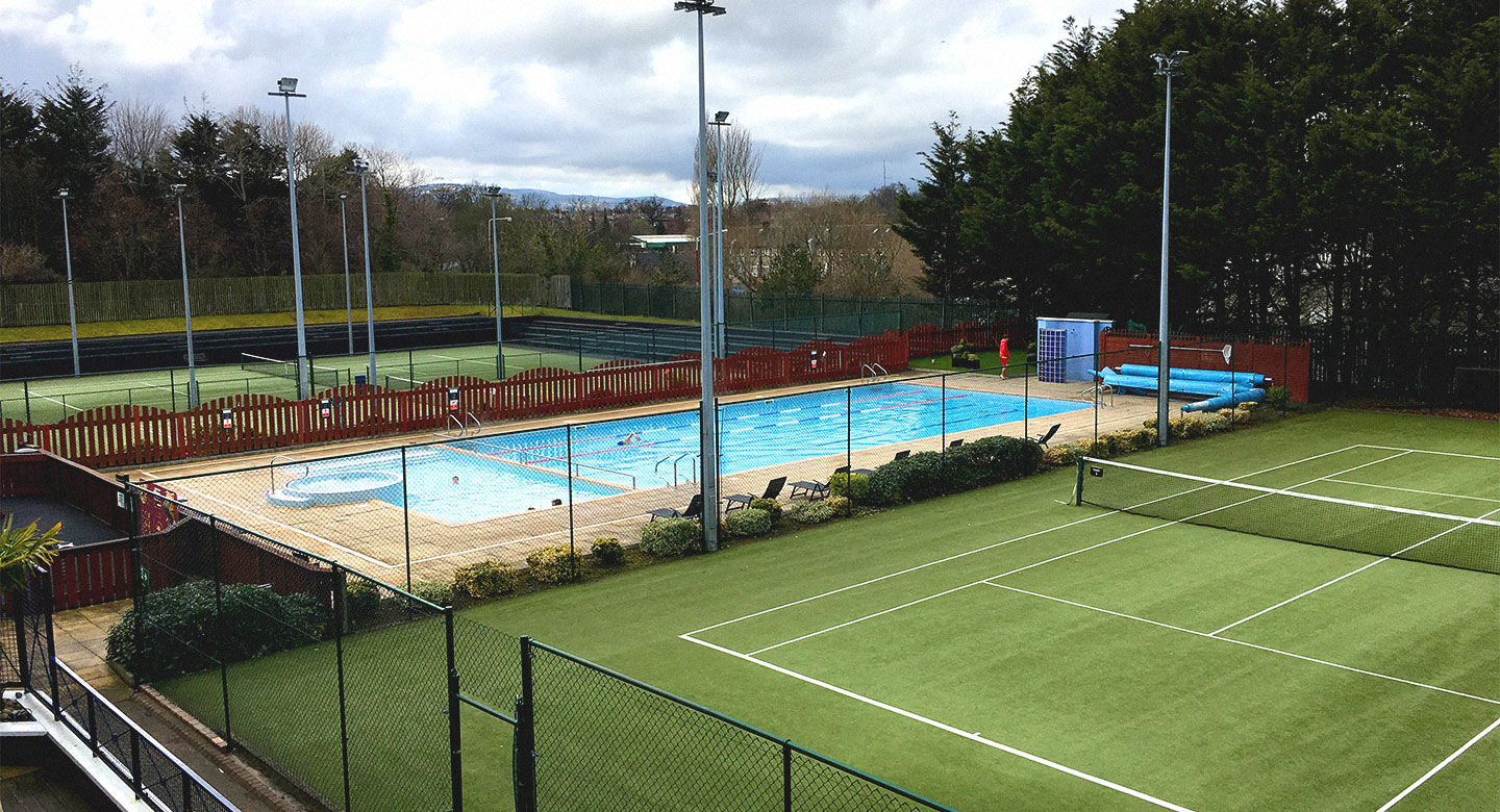 Dublin Riverview outdoor swimming pool