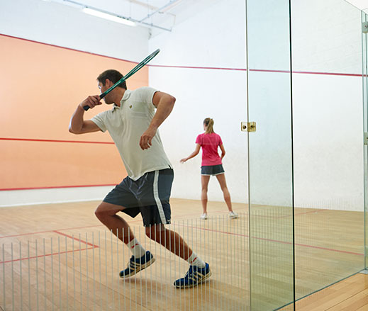 David Lloyd Clubs squash